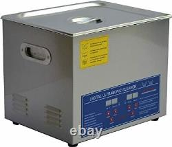 10L Commercial Stainless Ultrasonic Cleaning Machine JPS-40A with Digital Timer
