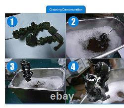 10L Digital Ultrasonic Cleaner Ultra Sonic Bath Stainless Steel Cleaning Tank UK