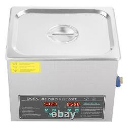 10L Double-frequency Digital Stainless Steel Ultrasonic Cleaner Cleaning Machine