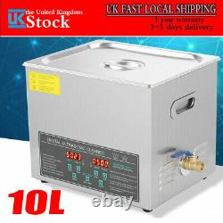 10L Double-frequency Digital Stainless Ultrasonic Cleaner Cleaning Tank Machine