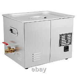 15 L Ultrasonic Cleaner Stainless Steel Industry With Digital Timer