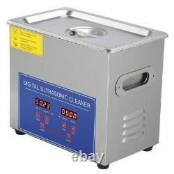 15L Professional Digital Ultrasonic Cleaner Timer Stainless Steel Cotainer 220V