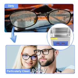 15l Stainless Ultrasonic Cleaner Commercial Bath Cleaner Tank Timer Heater Tool