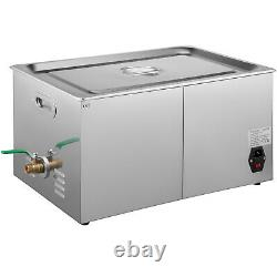 22 L Digital Ultrasonic Cleaner 760W Disinfectio Stainless Steel Heater Timer