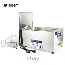 220V 22L Stainless Steel Digital Industry Ultrasonic Cleaner For PCB Parts Bath
