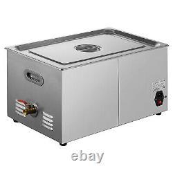 22L Digital Stainless Ultrasonic Cleaner Bath Cleaning Tank Timer & Heater 220V
