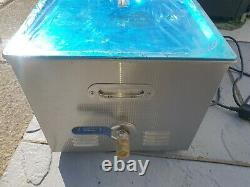 22L Stainless Ultrasonic Cleaner Bath Cleaning Tank Motorcycle carbs Jewellery