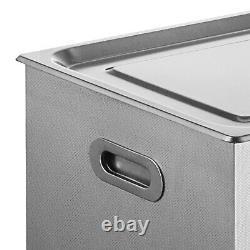 22l Digital Stainless Ultrasonic Cleaner Ultra Sonic Bath Tank Timer Heat Basket
