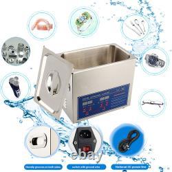 2L 3L 6L 10L 15L 22L 30L Stainless Ultrasonic Cleaner Cleaning Tank Timer Heater
