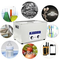 2L/3L/6L/10L Stainless Steel Ultrasonic Cleaner Ultra Sonic Bath Cleaning Heater
