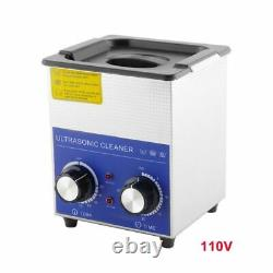 2L Ultrasonic Cleaner Stainless Steel Basket Jewelry Dentures Oil Rust Cleaner