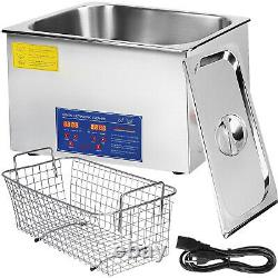 30L 30 L Digital Ultrasonic Cleaner1400W LED Display Stainless Steel Jewelry