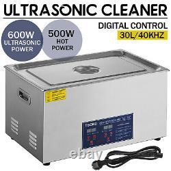 30L Digital Ultrasonic Cleaner Stainless Ultra Sonic Bath Cleaner Tank Heater UK