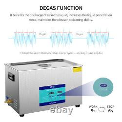 30L Digital Ultrasonic Cleaner Timer Heater Professional 304 Stainless Steel