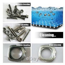 30l Digital Stainless Steel Ultrasonic Cleaner Ultra Sonic Wash Timer Heater Uk
