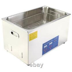 30l Stainless Ultrasonic Cleaner Ultra Sonic Bath Cleaning Tank
