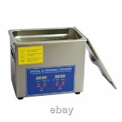 3L Ultrasonic Cleaner Stainless Steel Cleaning Machine JPS-20A 220V