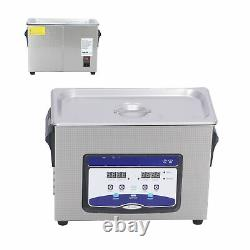 4.5L Household Ultrasonic Cleaner Stainless Steel Glasses Cleaning Machine HOT