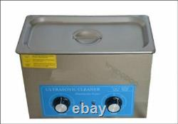 4L 110V Digital Ultrasonic Cleaner Stainless Steel Industry Heated Heater Y is