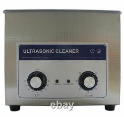 6.5L Ultrasonic Cleaners Stainless Steel Timer Heater Glass Jewelry Clean
