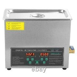 6L Double-frequency Digital Stainless Steel Ultrasonic Cleaner Machine Timer