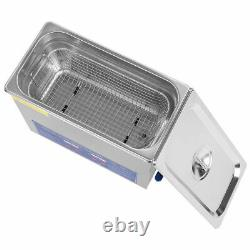 6L Stainless Steel Digital Ultrasonic Cleaner Ultra Sonic Bath Heater/Timer