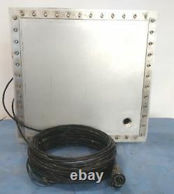 Blackstone-NEY 1920-24T Transducer Plate, 24x U1 40/72/104Khz, 20 x 19, SS