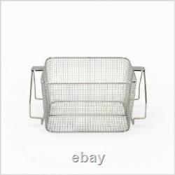 Crest Mesh Basket Stainless Steel with Handle for 1100 Series Ultrasonic Cleaner