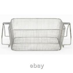 Crest Mesh Basket Stainless Steel with Handle for 1800 Series Ultrasonic Cleaner