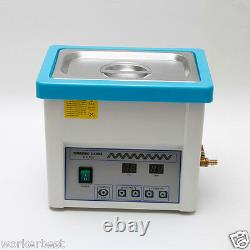 Dental Digital LCD Screen 5L Ultrasonic Cleaner for Handpiece Stainless Steel wr