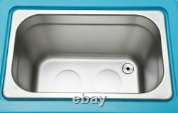 Dental Stainless Steel 5L Liter Industry Heated Ultrasonic Cleaner Heater 220V