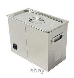 Digital 6L Dental Jewelry Stainless Ultrasonic Cleaner heater timer 110/220v t
