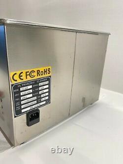 Digital Pro PS-60A Digital Ultrasonic Cleaner Stainless Steel Heated w Warrranty