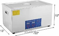 Digital Stainless Ultrasonic Cleaner Ultra Sonic Bath Cleaning Tank 30 Litre
