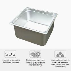 Digital Ultrasonic Cleaner 2L/3.2L/10L/15L/30L Timer Heater Stainless Steel New