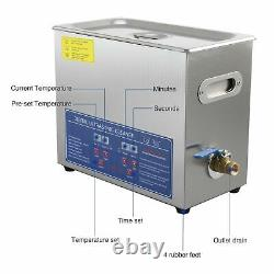 Digital Ultrasonic Cleaner Timer Stainless Steel Cotainer 30L UK (used)