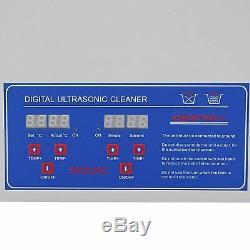Digital stainless steel ultrasonic cleaner 3L / 6L / 10L / 15L / 22L / 30L bath