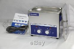 Durasonix 3.2 L Ultrasonic Cleaner Timer Heater Stainless