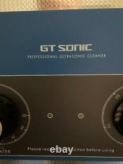 GT Sonic VGT-1990QT Professional Multi Ultrasonic Cleaner Stainless Steel 9L