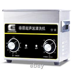 Home Use 2 L Stainless Steel Ultrasonic Jewelry Cleaner With Heater Timer hot