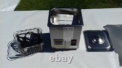 Jeken PS-10A Ultrasonic Cleaner 2 Liter 70 W 40,000 Hz Stainless Steel (220 V)