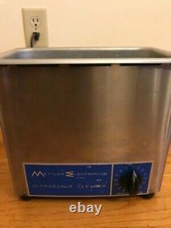 Mettler Electronics Stainless Steel Ultrasonic Cleaner ME 4.6