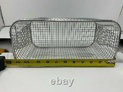 NEW Crest SSPB500-DH Stainless Steel Perforated Basket for P500 Cleaners
