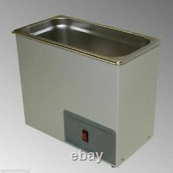 NEW! Sonicor Stainless Steel Heated Ultrasonic Cleaner 2.5 Gal Capacity S-200H