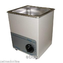 NEW! Sonicor Stainless Steel Tabletop Ultrasonic Cleaner, 1 Qt Capacity, S-30T