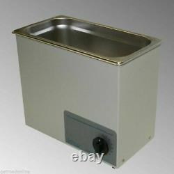NEW! Sonicor Stainless Steel Tabletop Ultrasonic Cleaner 2.5 Gal, S-200T