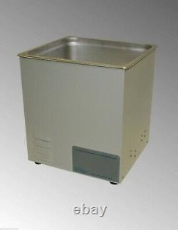NEW! Sonicor Stainless Steel Tabletop Ultrasonic Cleaner 3.5 Gal Capacity S-300