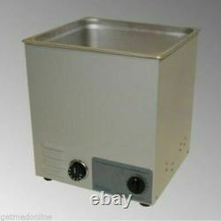 NEW! Sonicor Stainless Steel Tabletop Ultrasonic Cleaner 3.5 Gal, S-300T
