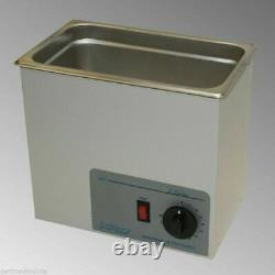 NEW! Sonicor Stainless Steel Ultrasonic Cleaner withHeat & Timer, 0.75 Gal S-100TH