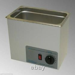 NEW! Sonicor Stainless Steel Ultrasonic Cleaner withHeat & Timer 1 Gal, S-101TH